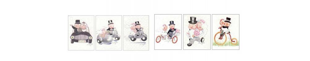 Etiquetas para la decoración de los detalles o recuerdos de boda