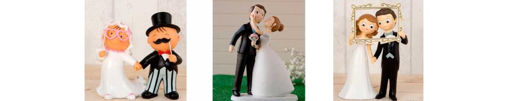 Figuras para tarta de boda | Originales figuras de novios