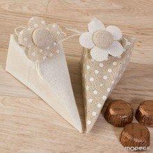 Detalles con bombones boda