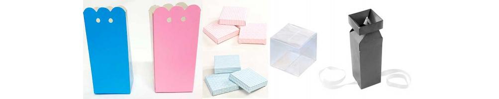 Cajas para la presentación de los detalles y recuerdos