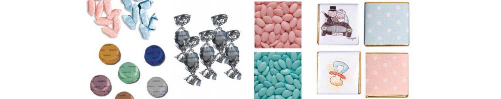 Bombones, caramelos y peladillas para acompañar a tus detalles