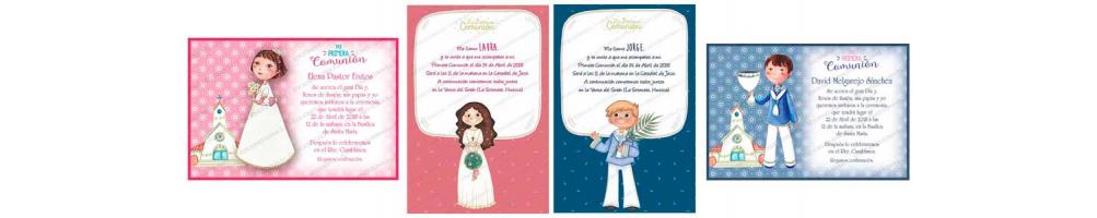 Invitaciones para Primera Comunión | Complementos comunión