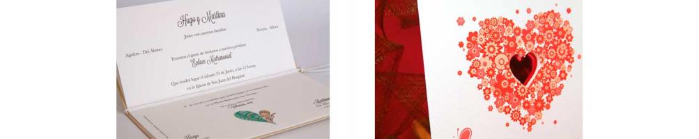 Invitaciones y tarjetas para boda | Invitaciones elegantes y modernas