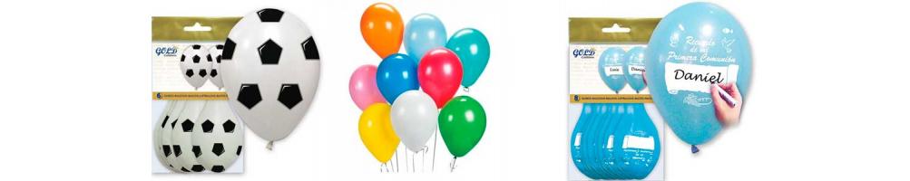 Globos para fiesta | Novios, bautizos, comuniones, cumpleaños