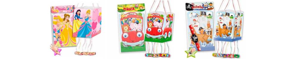 Piñatas infantiles y baratas para cumpleaños y fiestas