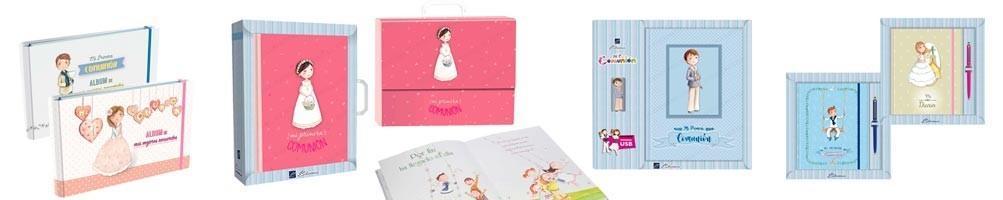 Libros para Primera comunión: libros de firmas, misales y diarios