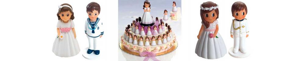 Figuritas de niños y niñas para obsequiar en comunión