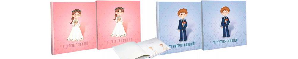 Libros de firmas para Primera Comunión con estuche de lujo a juego