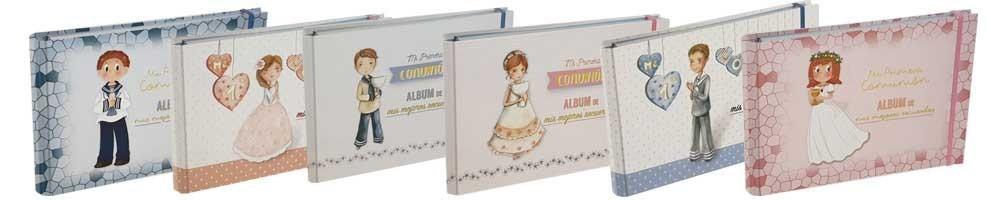 Práctico y bonito álbum para Primera Comunión Mis Mejores Recuerdos